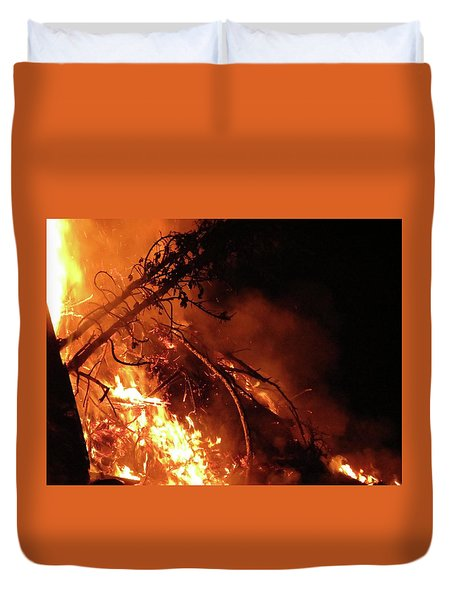 Bonfire Duvet Cover