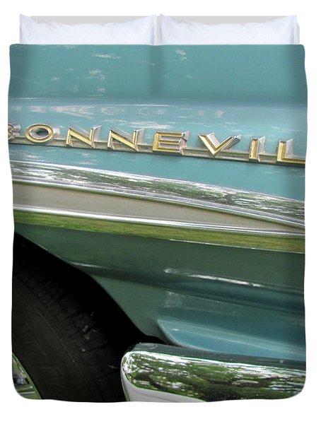 Bonneville Duvet Cover by Anita Burgermeister
