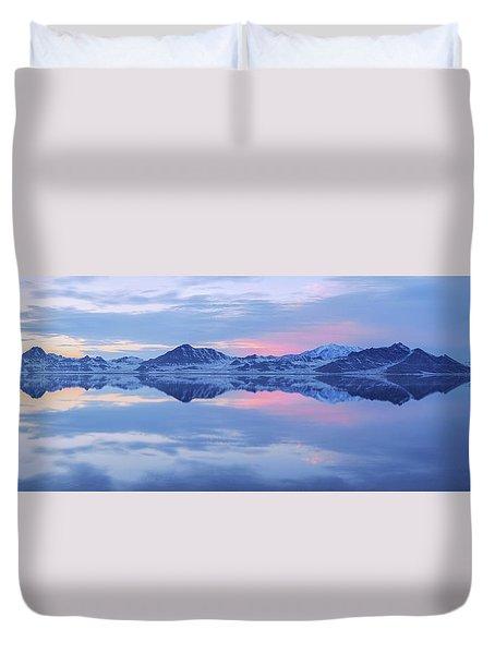 Bonneville Lake Duvet Cover