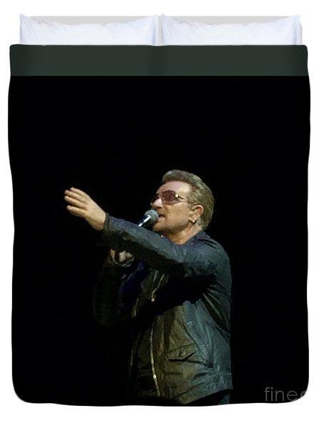 Bono - U2 Duvet Cover