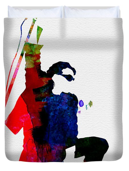 Bono Watercolor Duvet Cover