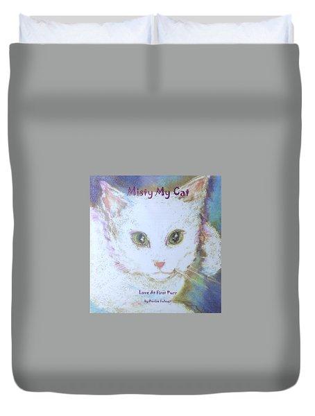 Book Misty My Cat Duvet Cover