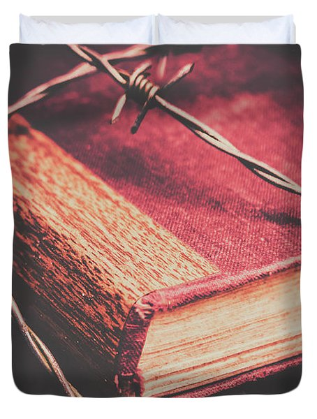 Book Of Secrets, High Security Duvet Cover