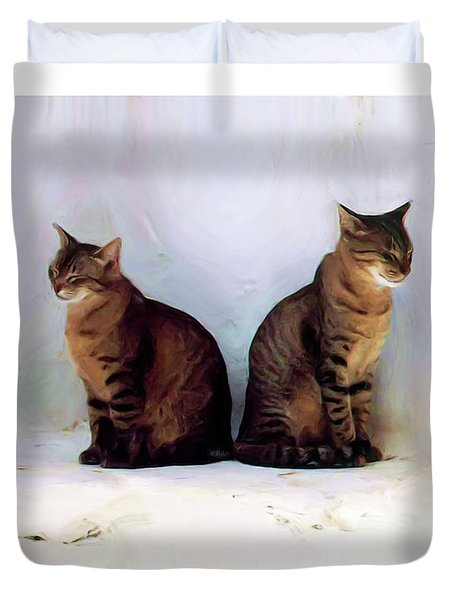 Bookends - Rdw250805 Duvet Cover