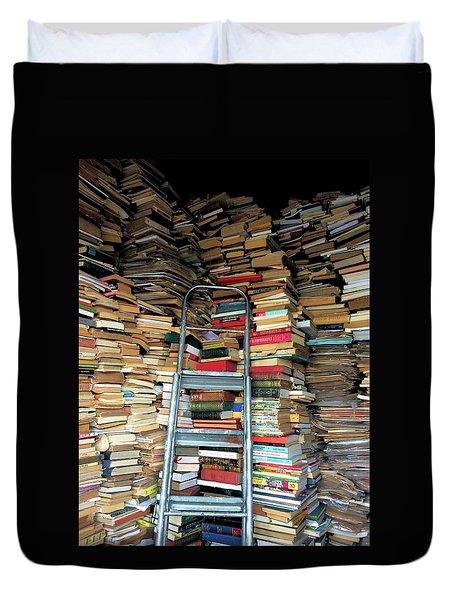 Books For Sale Duvet Cover