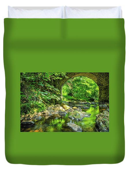Boola Bridge  Duvet Cover