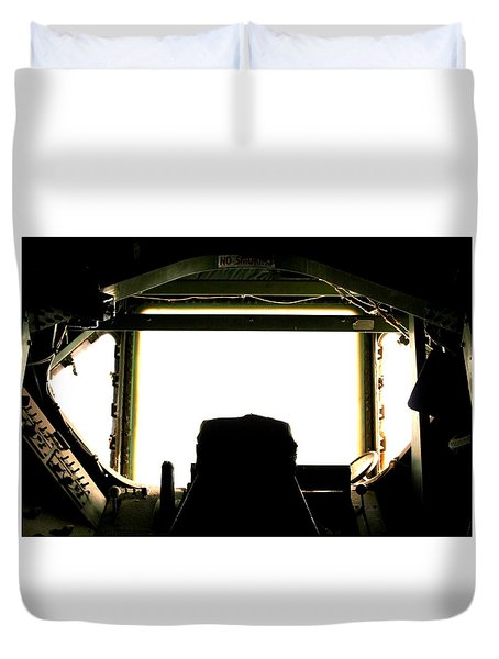 Boom Seat Duvet Cover by David S Reynolds