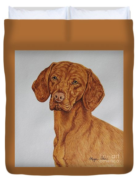 Boomer The Vizsla Duvet Cover