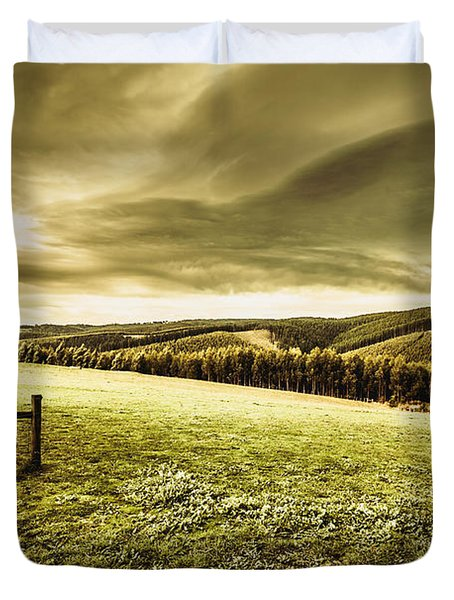 Boonah Countryside Duvet Cover
