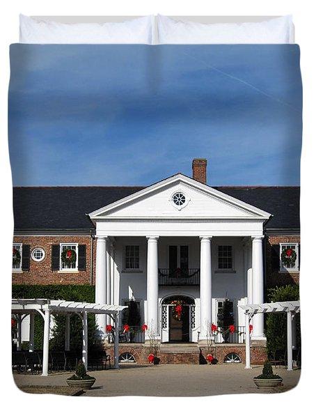 Boone Hall Plantation Charleston Sc Duvet Cover by Susanne Van Hulst