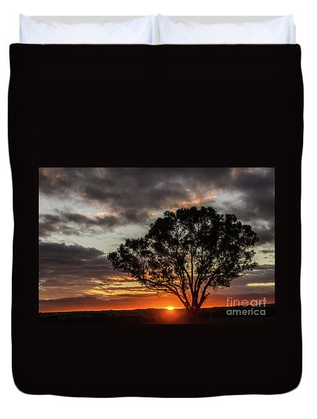 Boorowa Sunset Duvet Cover