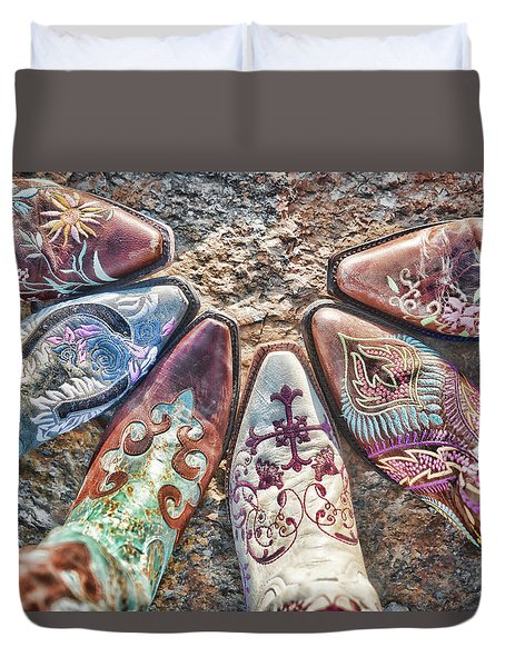 Boot Fan Duvet Cover
