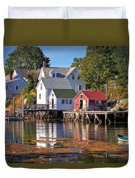 Boothbay  Maine Duvet Cover
