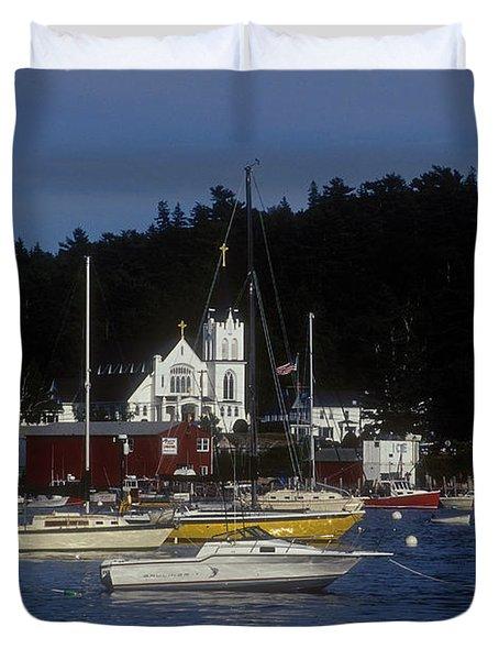 Boothbay Harbor Maine 2 Duvet Cover
