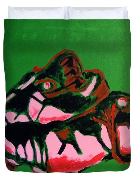 Boots Duvet Cover by Michael Ringwalt
