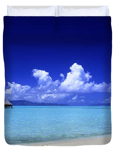 Bora Bora South Pacific Duvet Cover by Panoramic Images