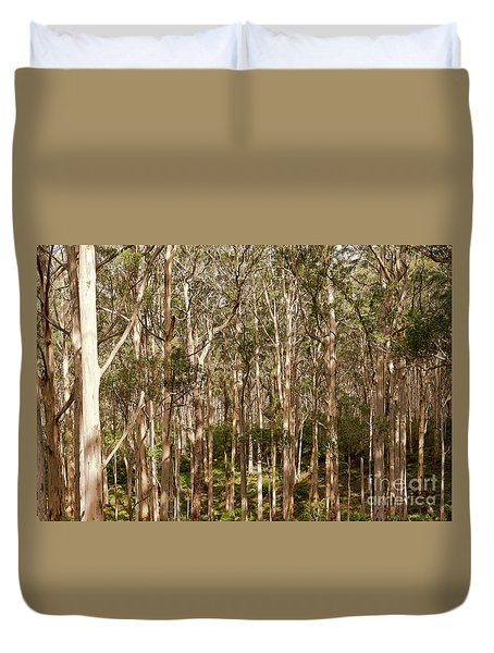 Duvet Cover featuring the photograph Boranup Forest  by Ivy Ho