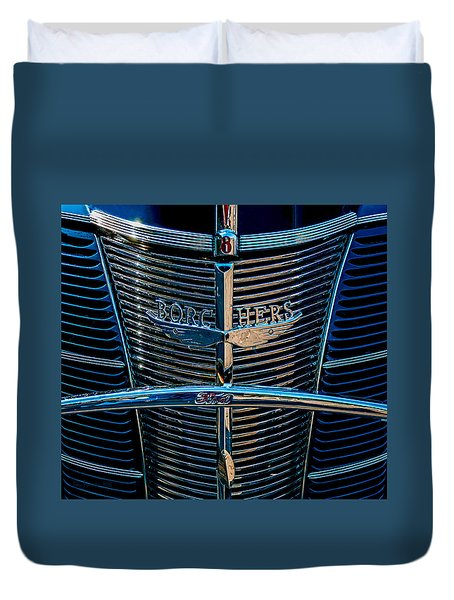 Borchers Ford V8 Duvet Cover