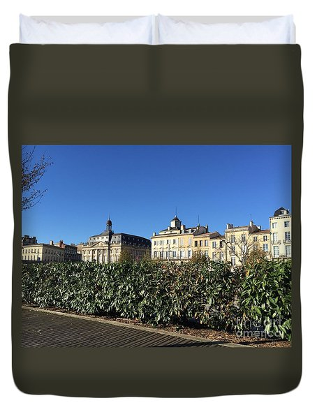Bordeaux Beauty Duvet Cover