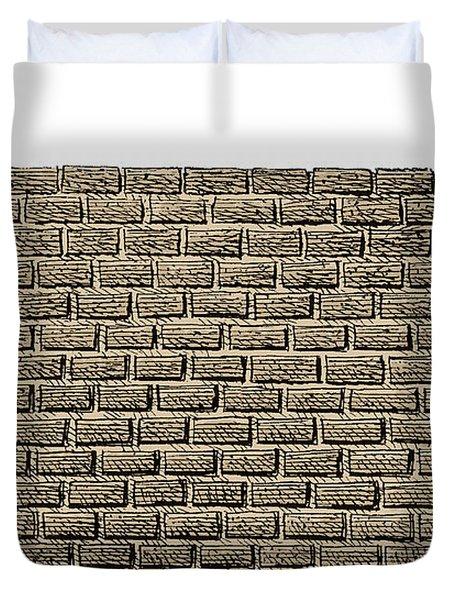 Border Wall Duvet Cover
