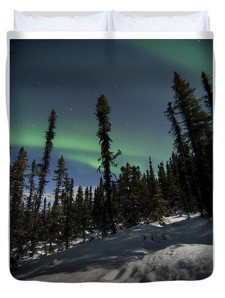 Boreal Forest Essence Duvet Cover