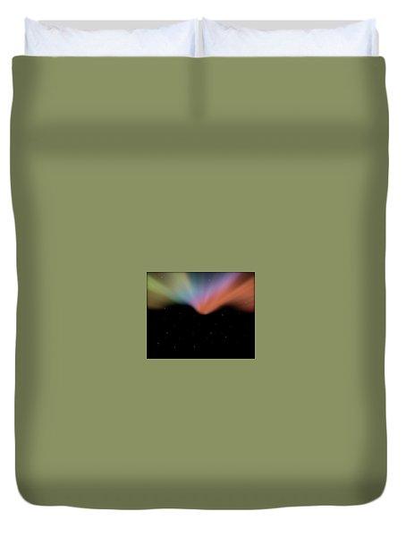 Borealis Duvet Cover by Carol Crisafi