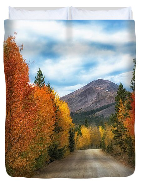 Boreas Mountain Duvet Cover