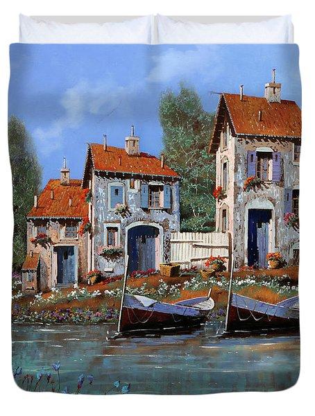 Borgo Viola Duvet Cover