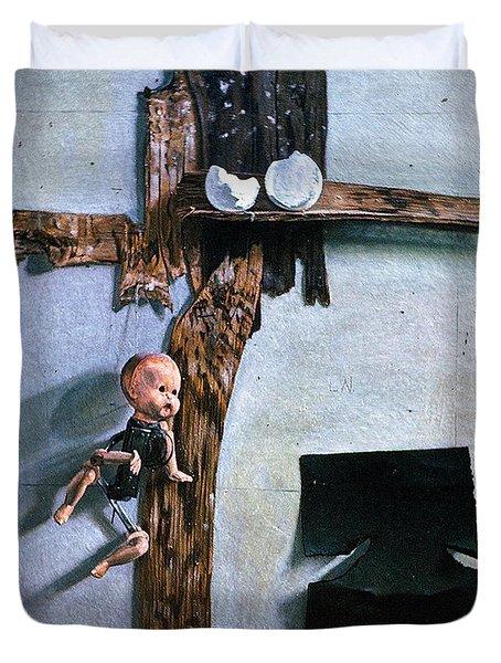 Born Again Duvet Cover by John Lautermilch
