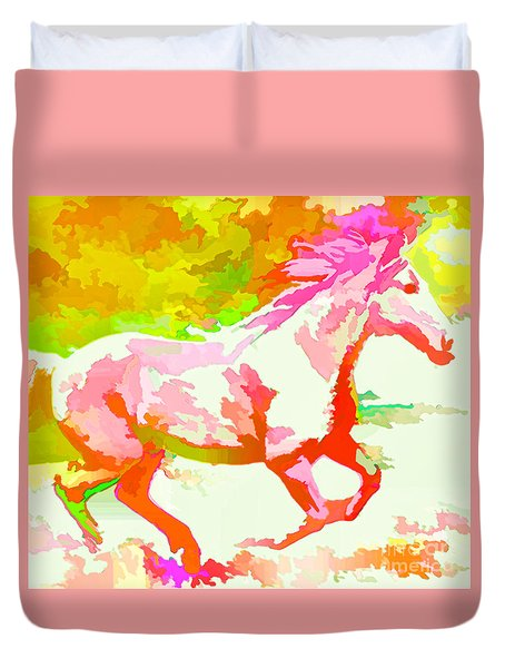 Born Free Duvet Cover