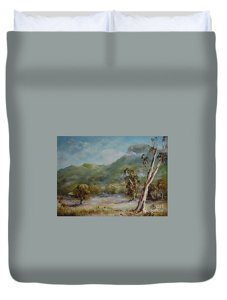 Boronia Peak Duvet Cover