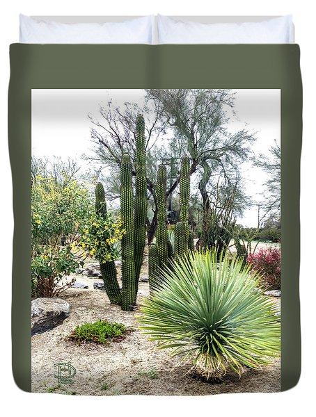 Borrego Botanical Garden Duvet Cover