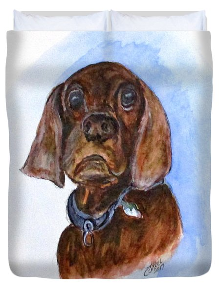 Bosely The Dog Duvet Cover