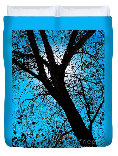Bosque Silhouette Duvet Cover