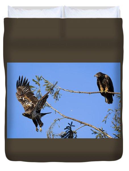 Bossy Eagle Duvet Cover