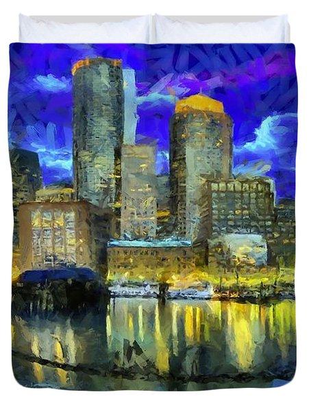Boston 1 Duvet Cover