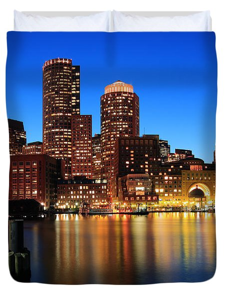 Boston Aglow Duvet Cover