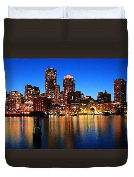 Boston Aglow Duvet Cover
