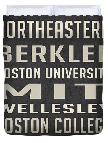 Boston Collegetown Duvet Cover