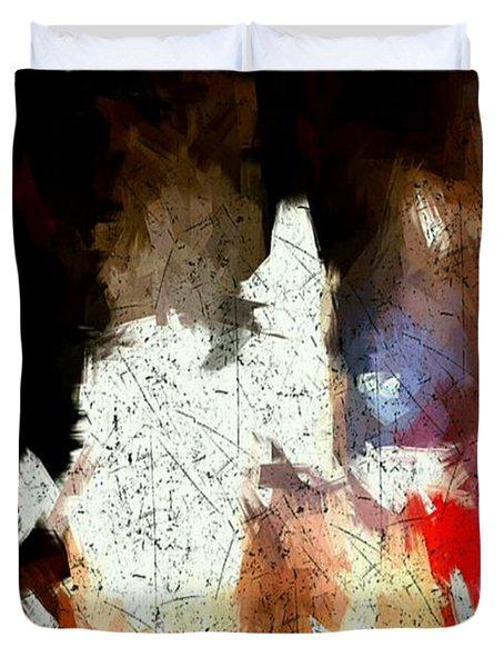 Boston Night Duvet Cover
