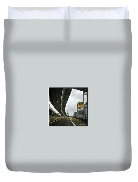 Boston Sand And Gravel  Duvet Cover