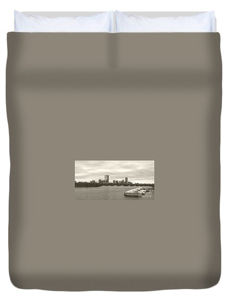 Boston View Duvet Cover
