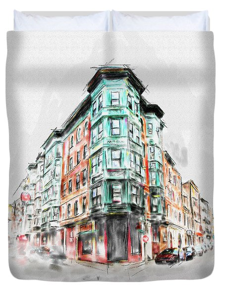 Bostons North End 222 1 Duvet Cover