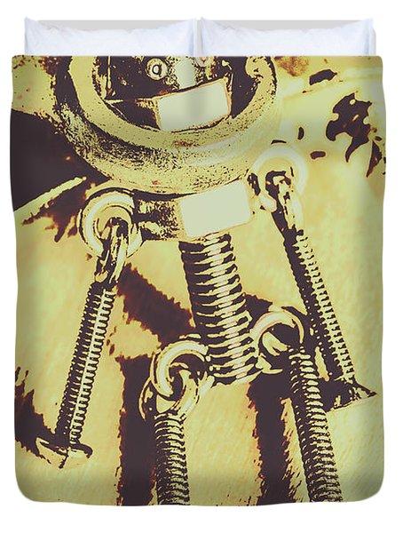 Bot The Builder Duvet Cover