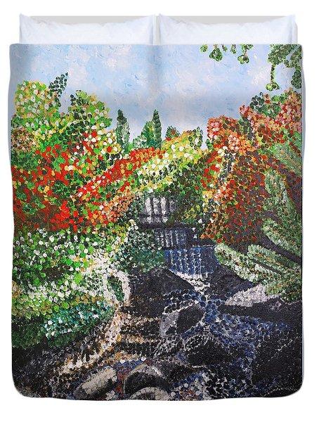 Botanic Garden Merano 1 Duvet Cover