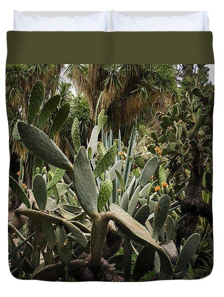 Botanic Garden Valencia Duvet Cover