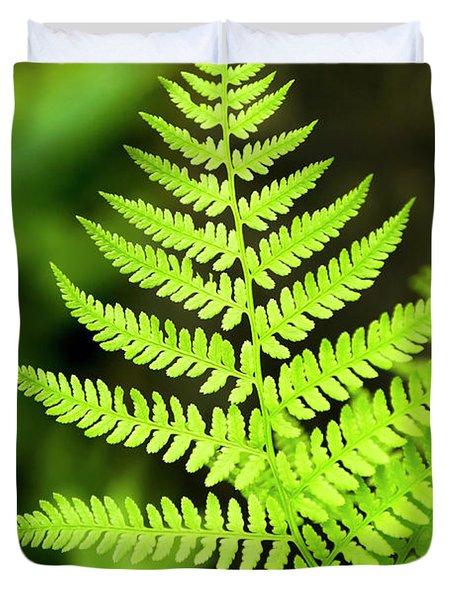 Botanical Fern Duvet Cover
