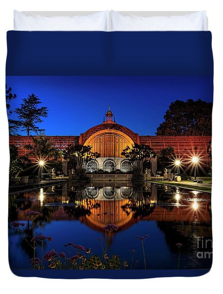 Botanical Gardens At Balboa Duvet Cover