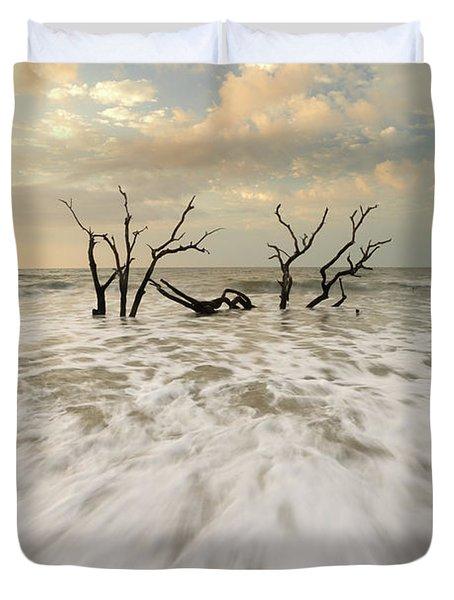 Botany Bay In South Carolina Duvet Cover