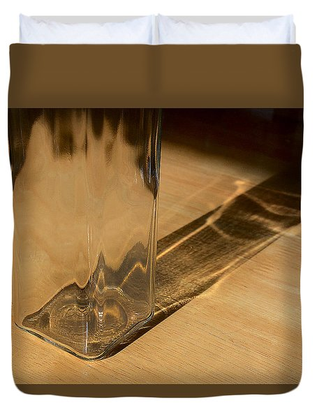 Bottle And Shadow 0925 Duvet Cover